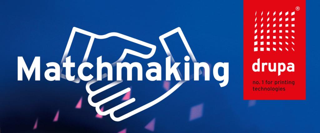 Drupa 2021 Matchmaking logo
