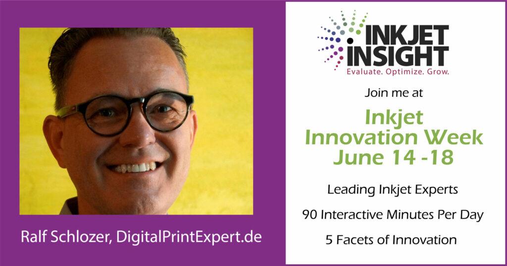 Inkjet insight - innovation week 2021